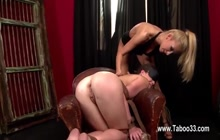 Fisting anal for a dirty lesbian slave