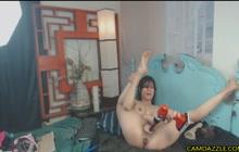 Crazy webcam solo show