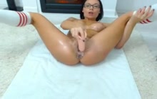 Creamy pussy squirt