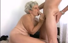 Old woman wants cock