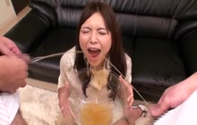 Japanese piss drinker