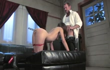 Amber Rayne bound and used