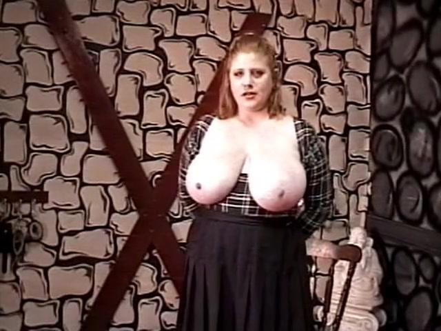 Latina Shows Big Tits Public
